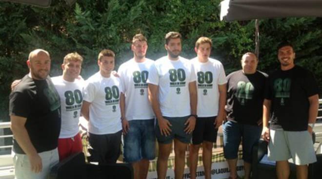 L'Aquila Rugby al via della nuova stagione