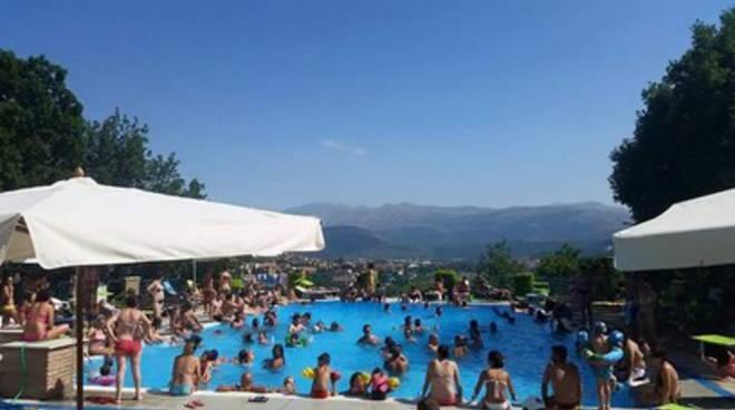 L'estate degli aquilani, vince la piscina in città
