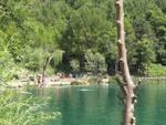 Lago Sinizzo, la spiaggia degli aquilani