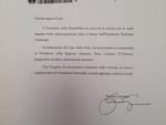 Mattarella risponde alla lettera dell'ISA e scrive a D'Alfonso