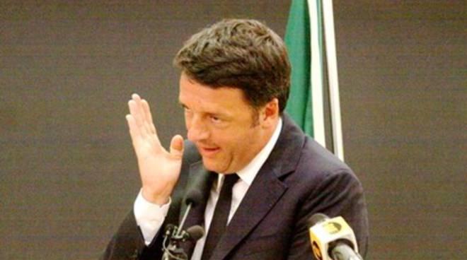 Renzi a L'Aquila, la visita in 20 scatti