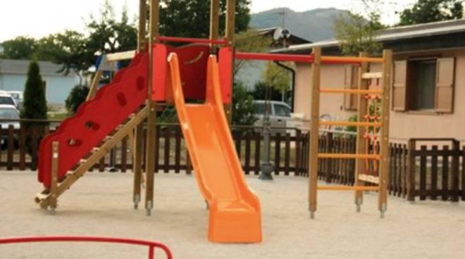 Rinasce la 'nuova Onna' grazie a un parco giochi
