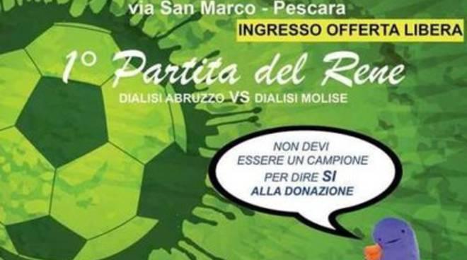 Aned Abruzzo lancia 'Partita del Rene'