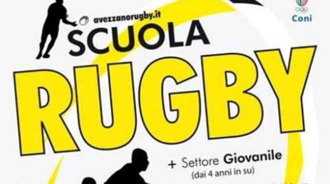Avezzano Rugby lancia 'Rugby Scuola di Vita'