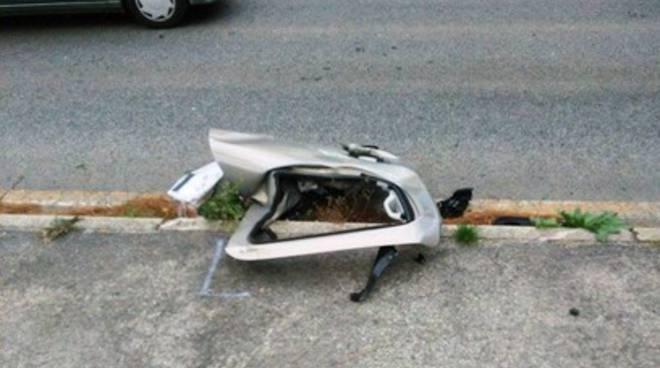 Incidente sulla statale 80, due veicoli coinvolti