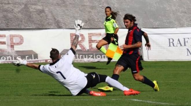 L'Aquila Calcio vittoriosa nella prima di campionato