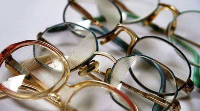 L'Aquila, si raccolgono occhiali usati per i meno fortunati