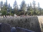 Migliaia di aquilani in fila per rivedere il Mammut