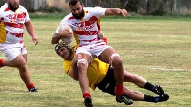 Paganica Rugby, l'esordio ufficiale fa ben sperare