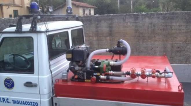 Tagliacozzo, arriva la 'Ferrari' delle autobotti anti-incendio