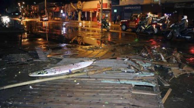 Trema il Cile: spaventosa scossa di magnitudo 8.3