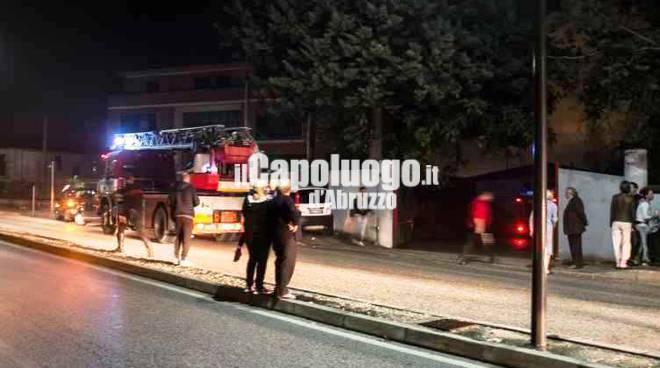 Esplosione abitazione Avezzano