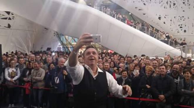 Gabriele Cirilli all'Expo
