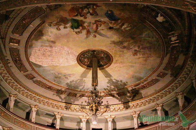 Il teatro comunale dell'Aquila dopo il sisma - Anno 2012