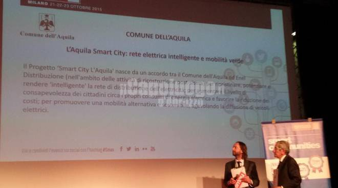 L'Aquila - Premio Smau Smart City