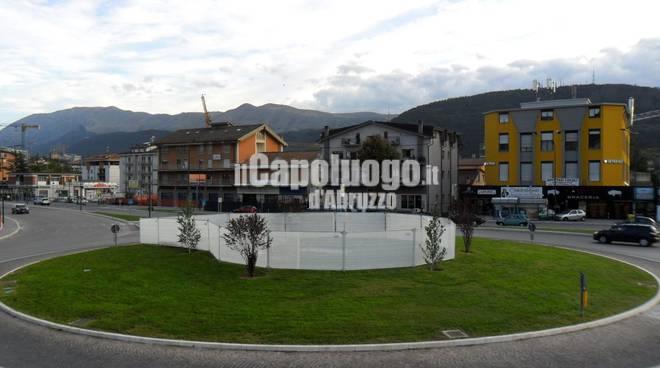 Nuovo monumento Piazza D'Armi