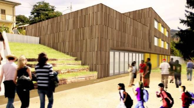 Scuola Arischia - Rendering