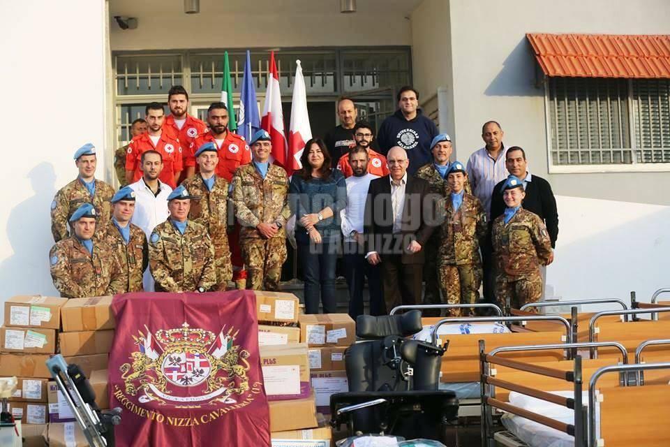 ALPINI LIBANO, CROCE ROSSA