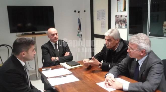 Consiglio Abruzzo - Silvio Paolucci e Lorenzo Beradinetti