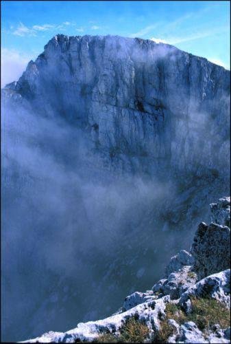 Dove abitano le montagne della frontiera. Fotografie di Vincenzo Battista