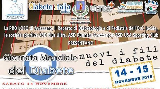 Giornata diabete Avezzano