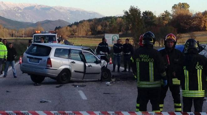 Incidente mortale Barisciano
