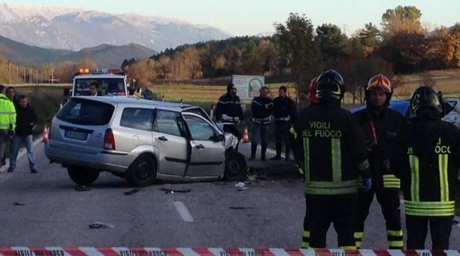 Incidente mortale Barisciano