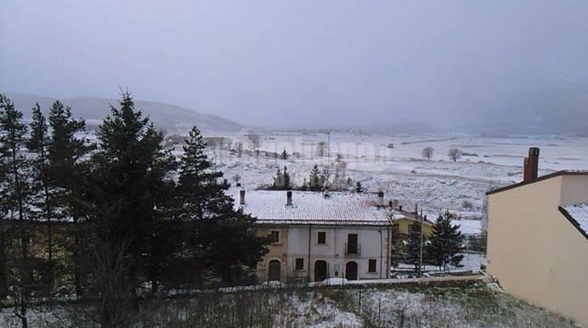 Neve L'Aquila e dintorni
