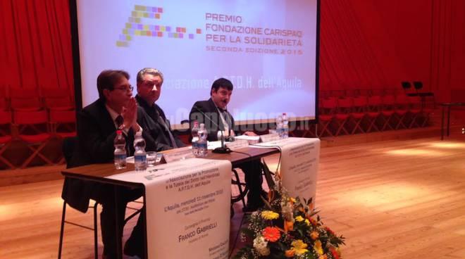 Premio Fondazione Carispaq Solidarietà