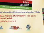 PRESENTAZIONE VOLUME LIBIA
