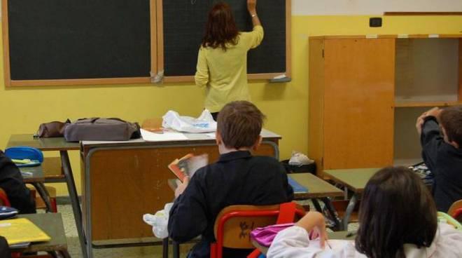 Scuola - professore alla lavagna