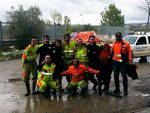 Volontari aquilani a Benevento