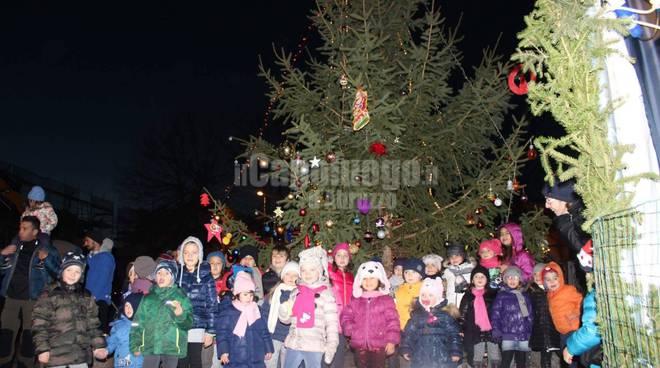 albero di Natale a Paganica