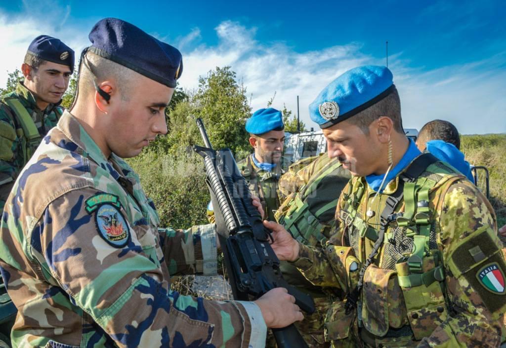 alpini forze armate in libano