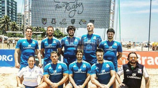 Beach Rugby, bene il neroverde Bonifazi