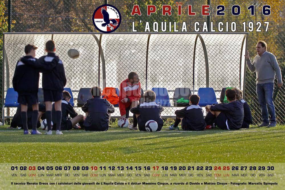 CALENDARIO L'AQUILA CALCIO