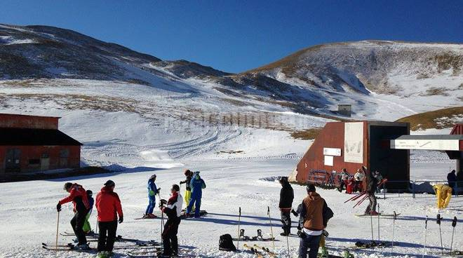 campo imperatore apertura impianti 6 dicembre 2015