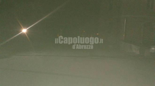 Ex Ospedale Collemaggio al buio