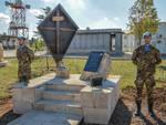 inaugurazione monumento Selenyj-jar
