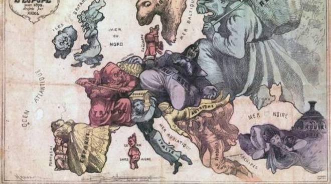 L'Aquila, in mostra la Grande Guerra nella cartografia satirica europea