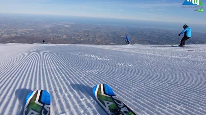 Majelletta WE, '1,5 mt di neve con vista mare'