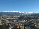 montagne neve gelo