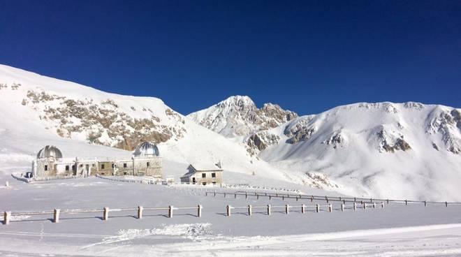 Neve: l'Abruzzo c'è e fa concorrenza alle Alpi