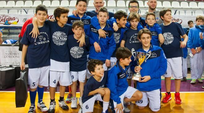 Nuovo Basket Aquilano vince Trofeo della Befana a Rieti