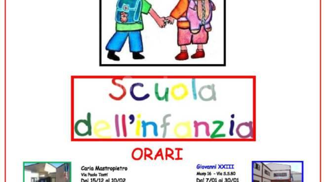 open day scuole infanzia