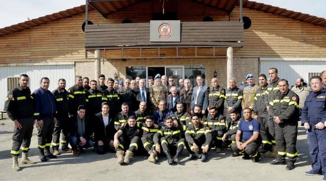 alpini e protezione civile libano