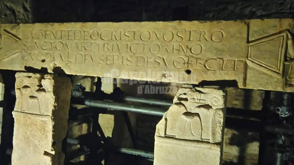 catacomba san vittorino