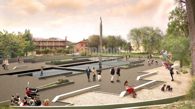 Parco della memoria, il progetto: sarà su 3 livelli