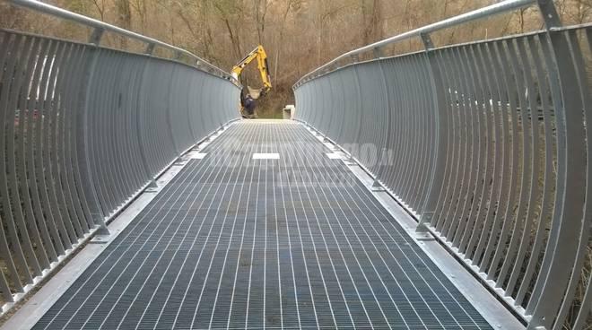 ponte pedonale paganica