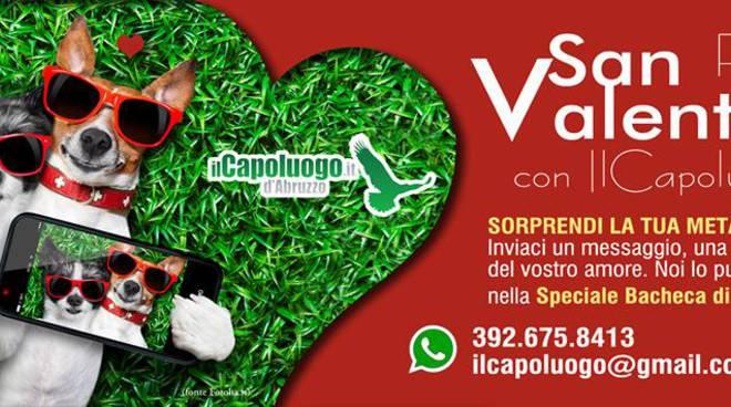 San Valentino, i tuoi auguri su IlCapoluogo.it